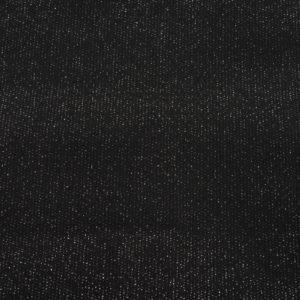 EDGEWATER CARPET 1M black metallic silver