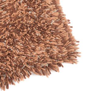 carlyle shag rug chocolate mix