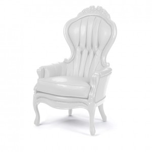 Elizabeth Chair white