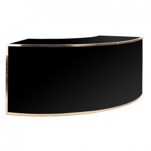 avenue 1_4 round gold black plexi