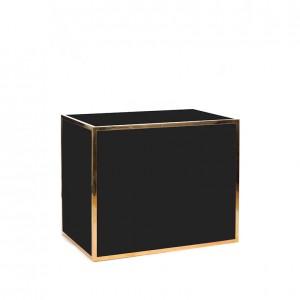 avenue 4' bar gold black plexi