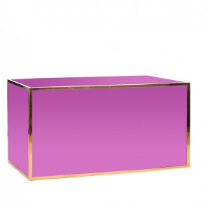 avenue 6' bar gold purple plexi