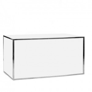 avenue 6' bar ss white plexi