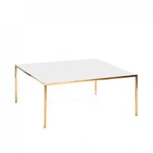 carlton table gold white plexi