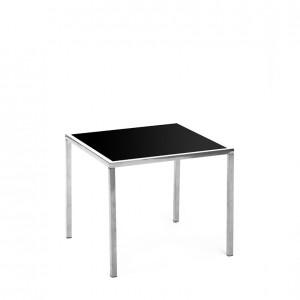 mercer table SS black plexi