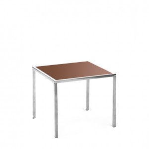 mercer table SS brown plexi