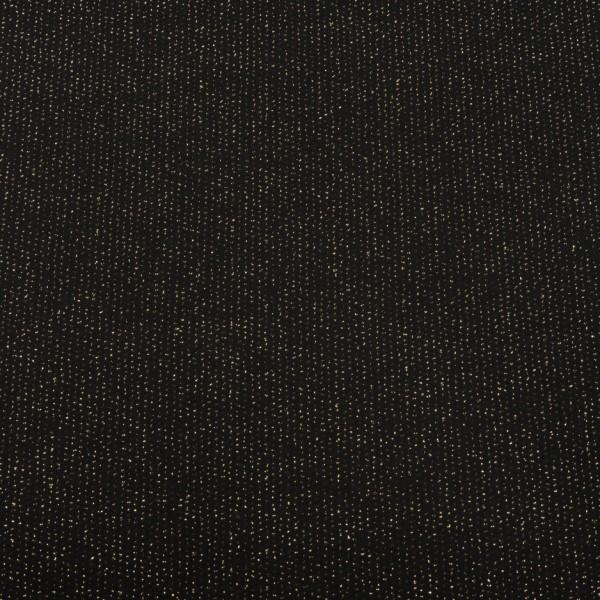 EDGEWATER CARPET 1M black metallic gold