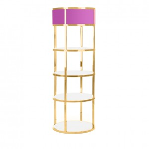 GRAND BAR BACK GOLD pink_white plexi
