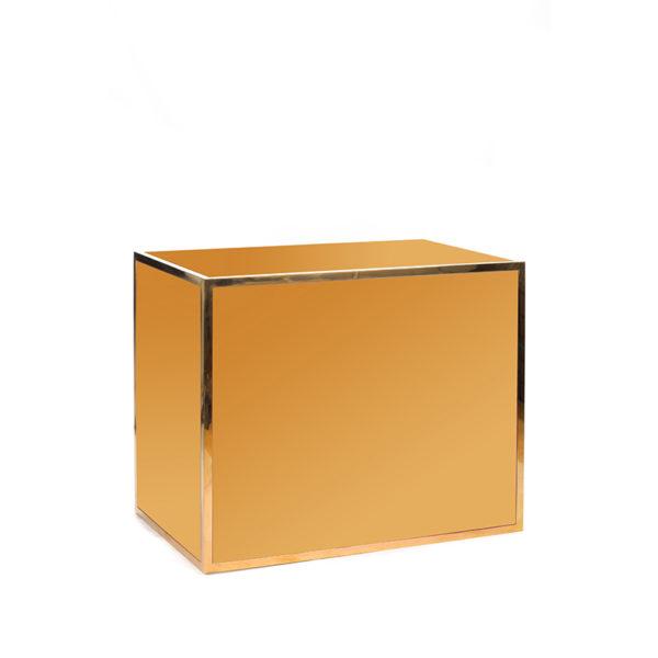 Avenue 4' bar gold gold plexi