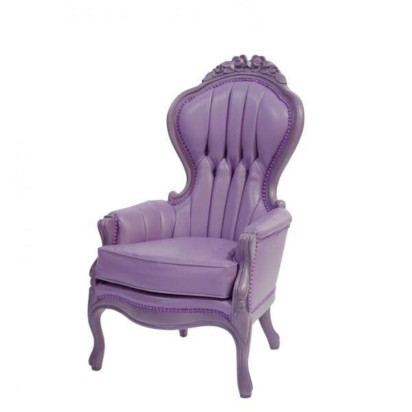 Elizabeth chair-violet-S