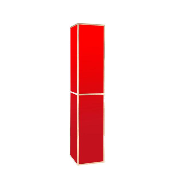 Rialto Tower GOLD - red plexi