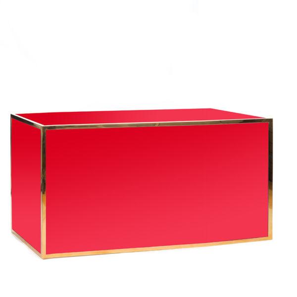 avenue 6' bar gold red plexi