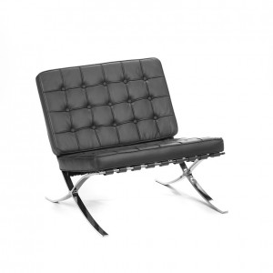 barcelona chair black