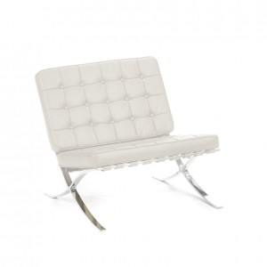 barcelona chair cream