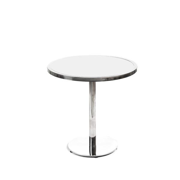 gramercy 30_ round cocktail white plexi