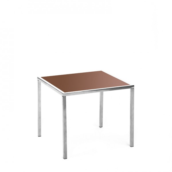 mercer table SS brown plexi
