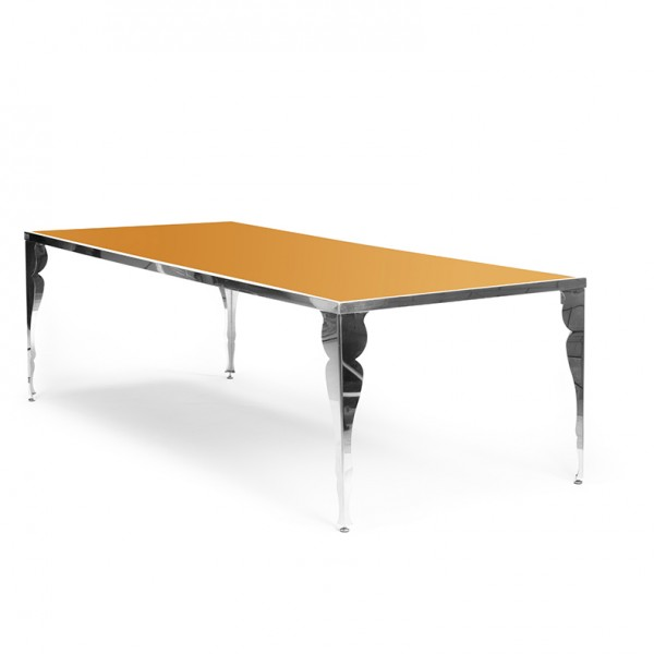 BOGART TABLE gold plexi