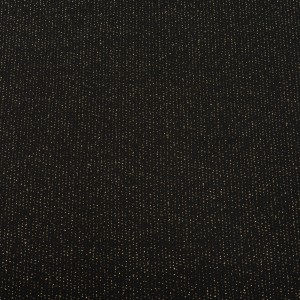 EDGEWATER CARPET 1M black metallic gold