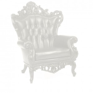 King Chair white
