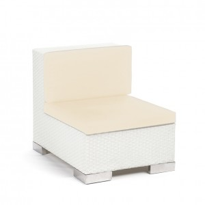 Savoy Middle White - creme cushion