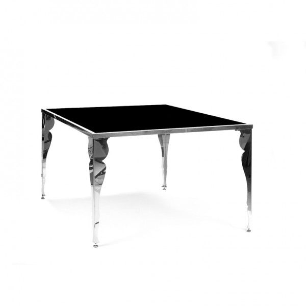 berkshire table black plexi
