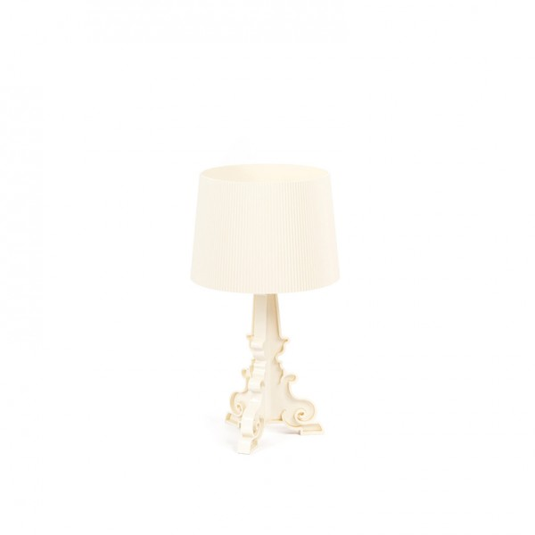 bourgie table lamp creme