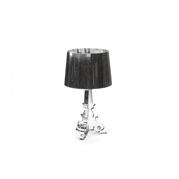 bourgie table lamp silver