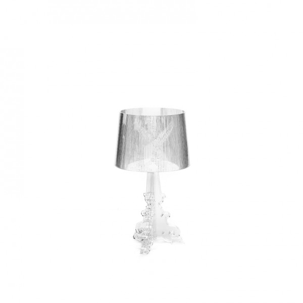 bourgie table lamp transparent