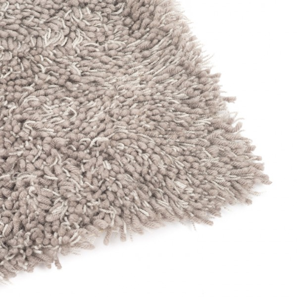 carlyle shag rug grey mix
