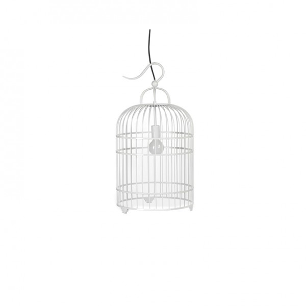 Bird Cage white Small