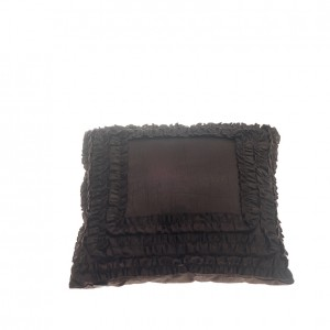 Frill Pillow - Brown