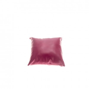 Pillow - Leather - Fuschia