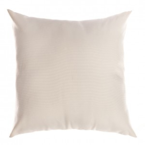 Pillow - Leather - White