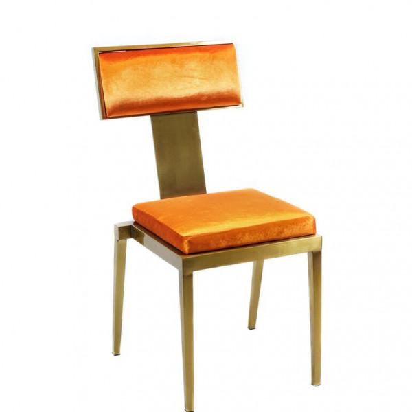 Manhattan_Chair_Orange_Velvet
