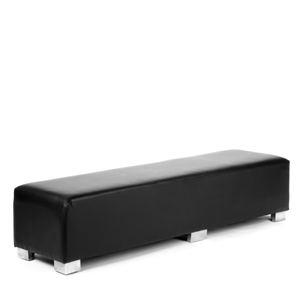 CONTINENTAL LOW BENCH black