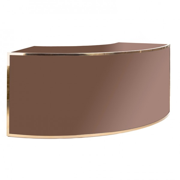 Avenue 1_4 Round Gold Brown Plexi