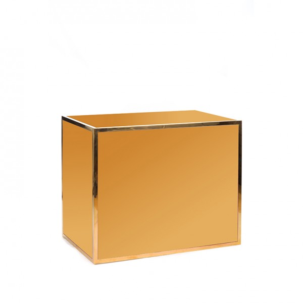 Avenue 4' bar gold gold plexi
