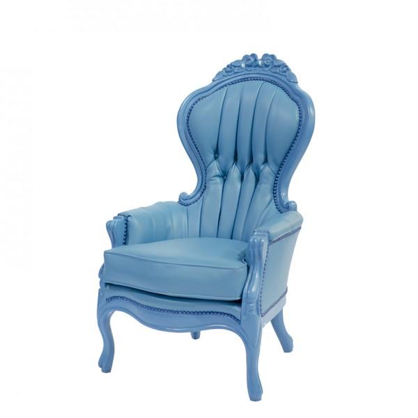 Elizabeth chair-blue-S