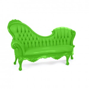 Victoria Chaise lime