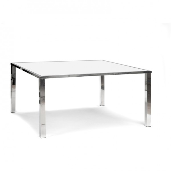 avalon dining white plexi