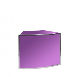 avenue 1_8 round  SS purple plexi