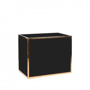 avenue 4' bar gold black plexi