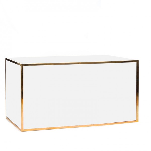 avenue 6' bar gold white plexi