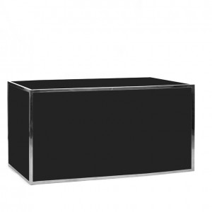avenue 6' bar ss black plexi