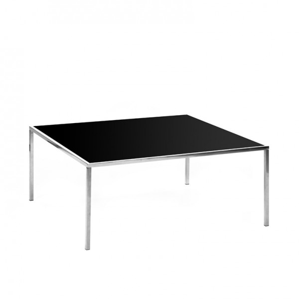 carlton table SS black plexi