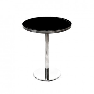 gramercy 40_ round cocktail black plexi