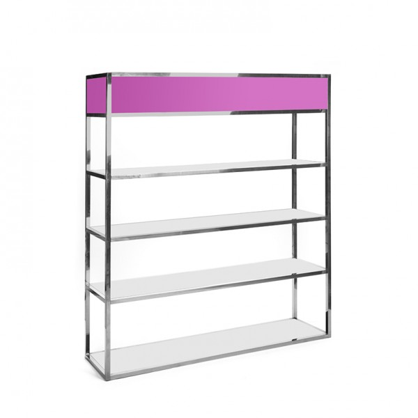 Essex Bar Back SS - pink plexi