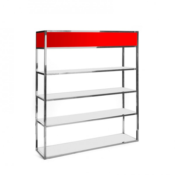 Essex Bar Back SS - red plexi