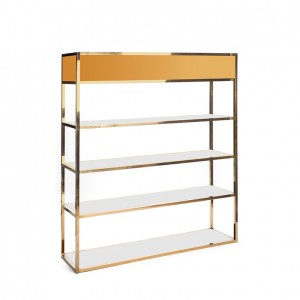 Essex Bar back GOLD - gold plexi