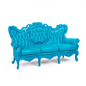 Madame Sofa cyan blue
